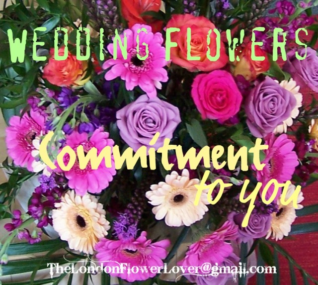 commitment  to you wedding flowers