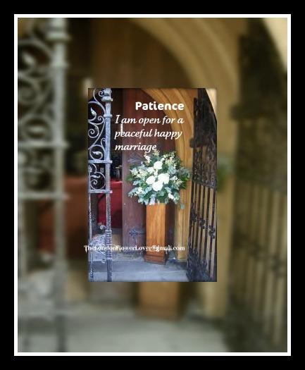 happy marriage church flowers doorway