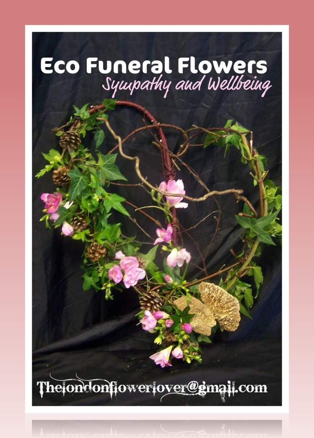eco funeral flowers