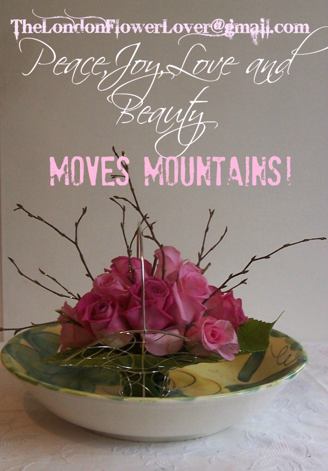 peace joy love and beauty moves moutains green bowl