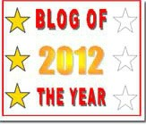 3 star 2012 blog award