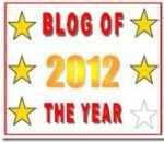 5 star 2012 blog award