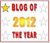 one star 2012 blog award