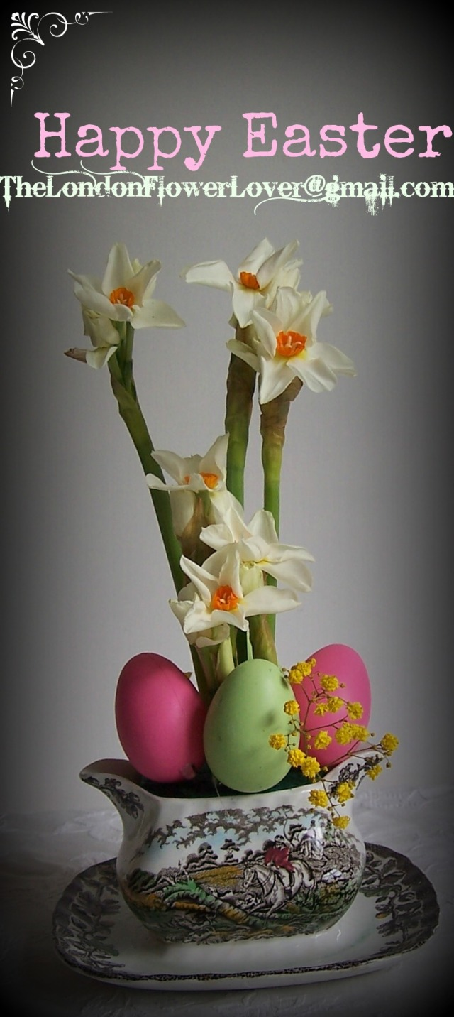 happy easter the london flower lover daffodils and eggs