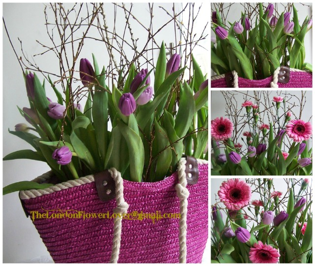the london flower lover 1 purple tulip Collage