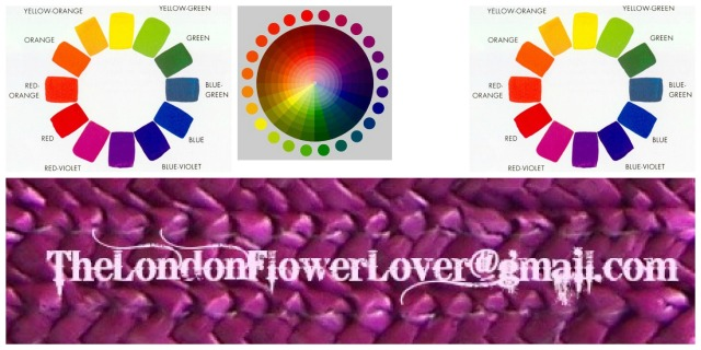 thelondonflowerlover colour wheel