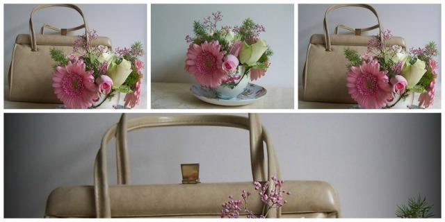 flower hand bag the london flower lover Collage