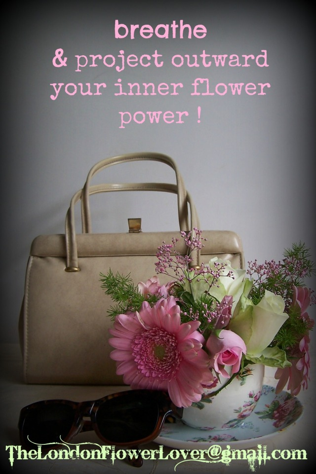 thelondonflowerlover breathe and project outward your inner flower power teapot flowers