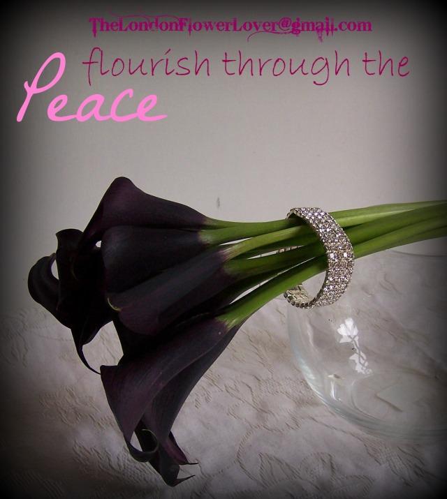 calla lilly peony flourish through the peace The London Flower Lover