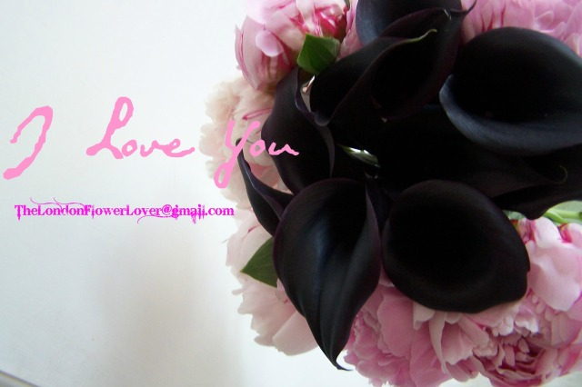calla lilly peony i love you thelondnflowerlover