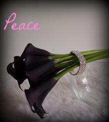 calla lilly peony peace