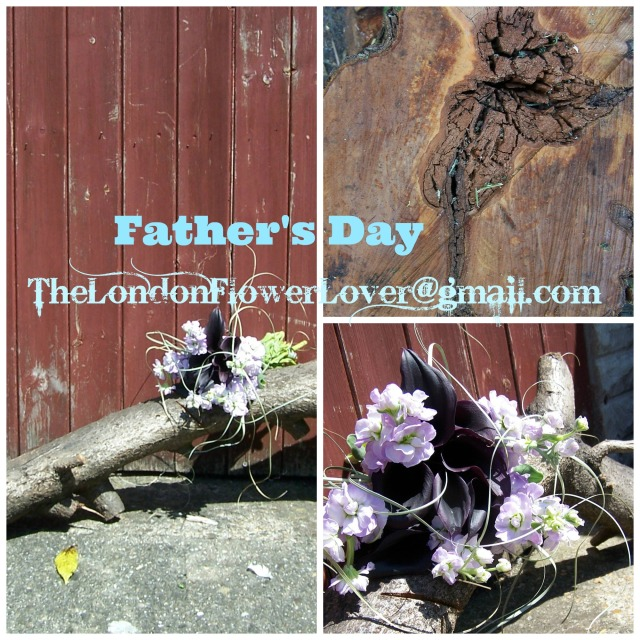 Fathers Day Flowers Collage The London Flower Lover