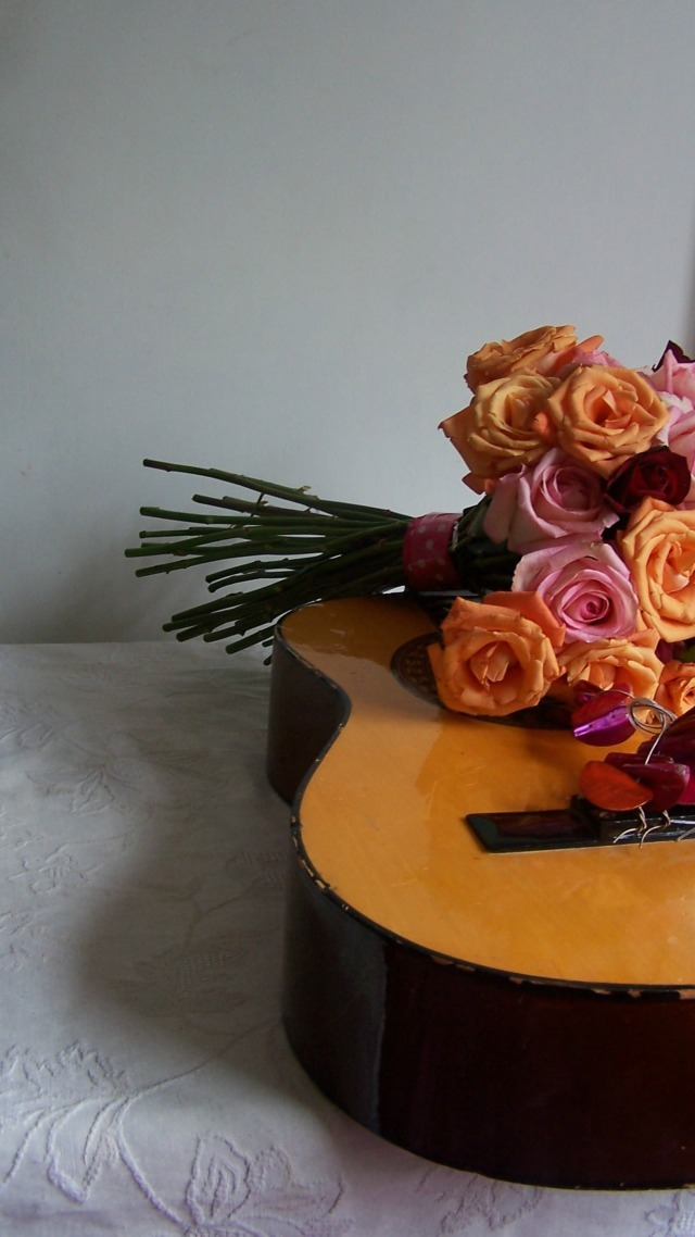pink orange rose handtied bouquet the london flower lover 080