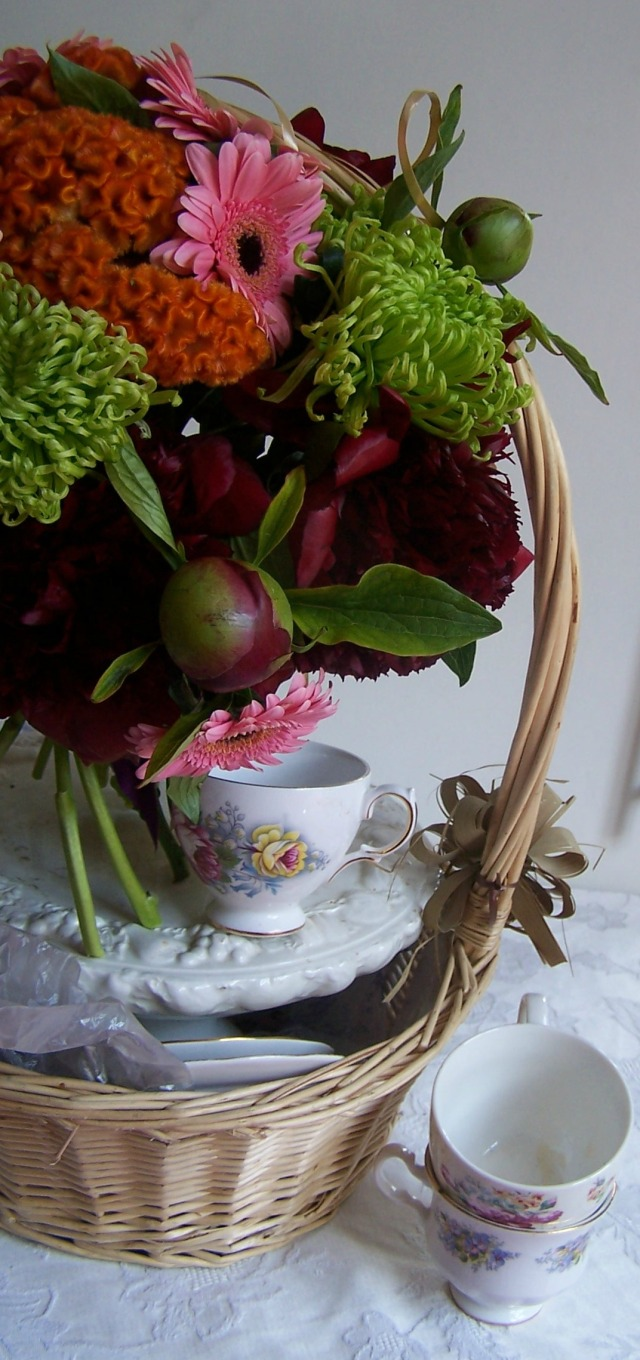 red peony bouquet 037