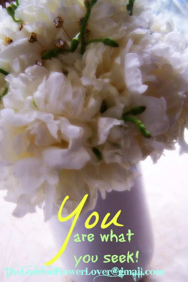 the london flower lover you are what you seek peonies