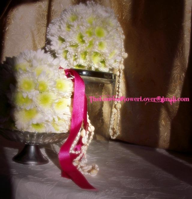 wedding spheres The London Flower Lover