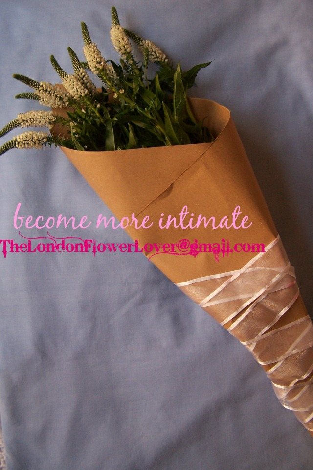 The London Flower Lover become more intimate