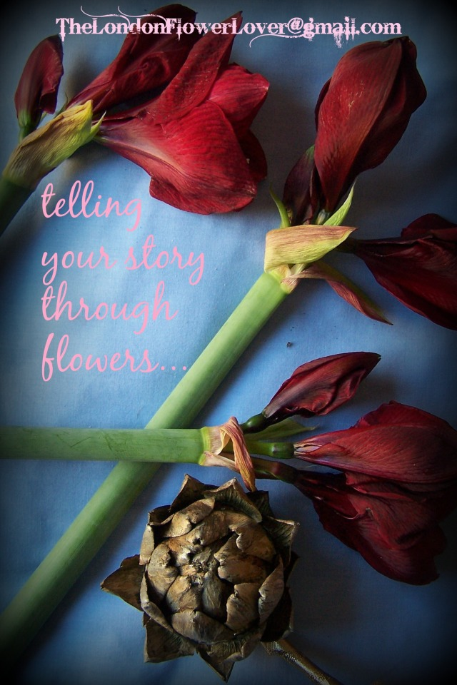 The London Flower Lover telling my story tru flowers