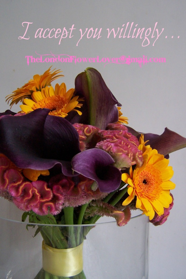 The London flower Lover Willing and receptive call lillies and more
