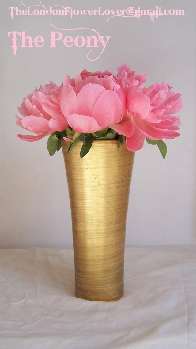 TheLondonFlowerLover Wedding flower The Peony
