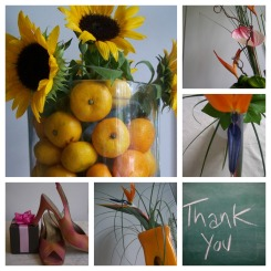 thankyou London flower lover Collage