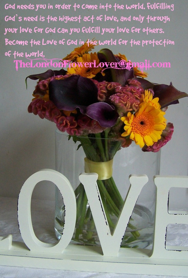 The London flower Lover Maat Truism Love