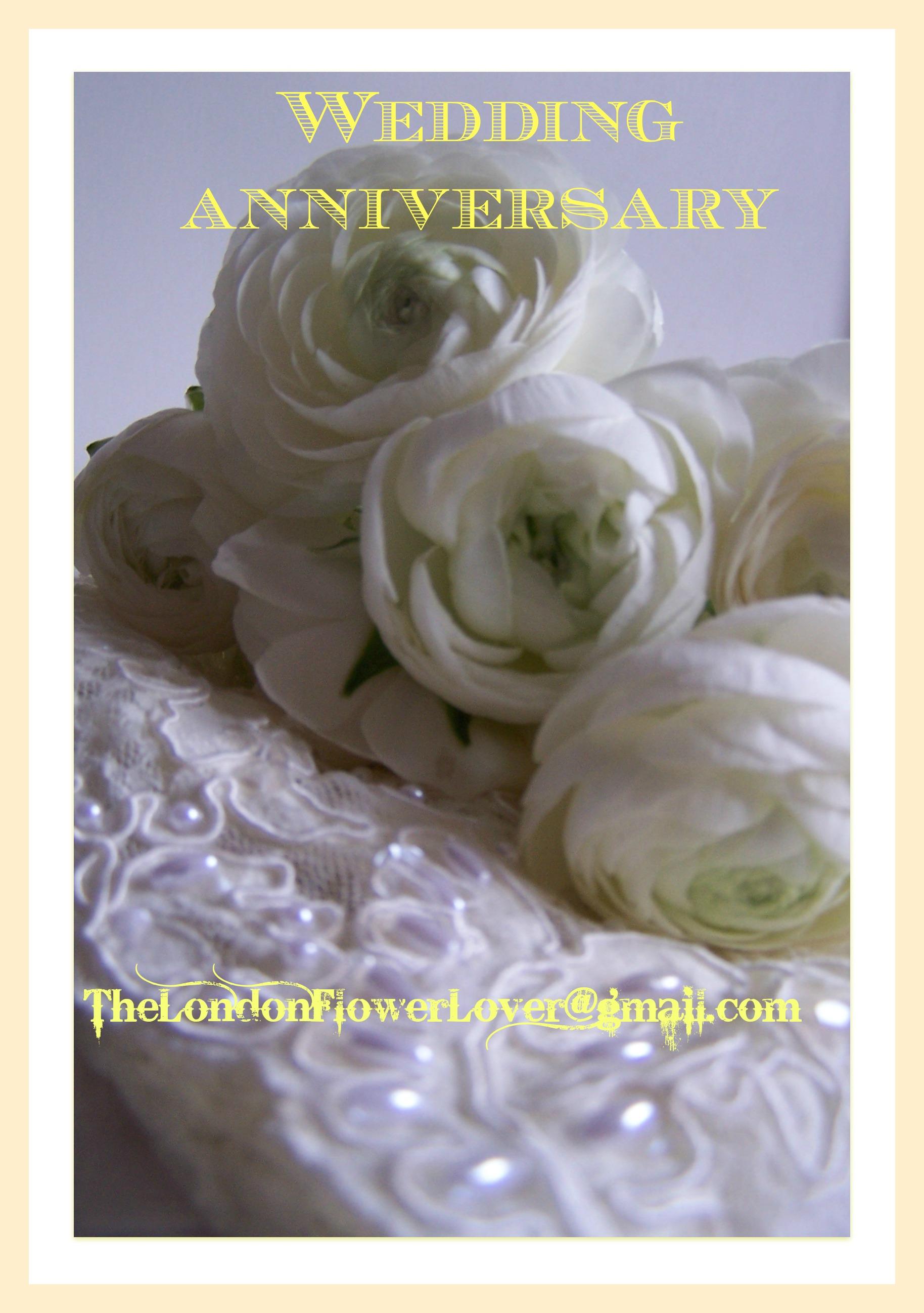 Wedding Anniversary Flowers The London Flower Lover