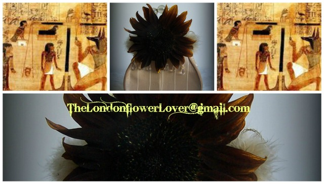 The London Flower Lover maat sunflower Collage