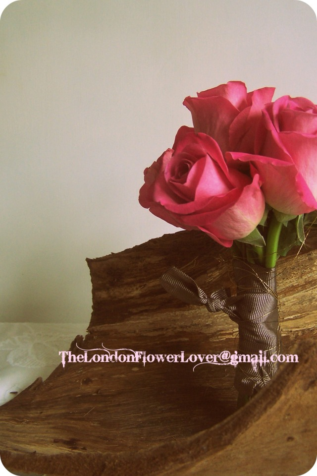 Vintage Roses Posy Het Heru100_8115 The London Flower Lover