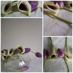 Tulip and Calla Lilly The London Flower Lover Collage