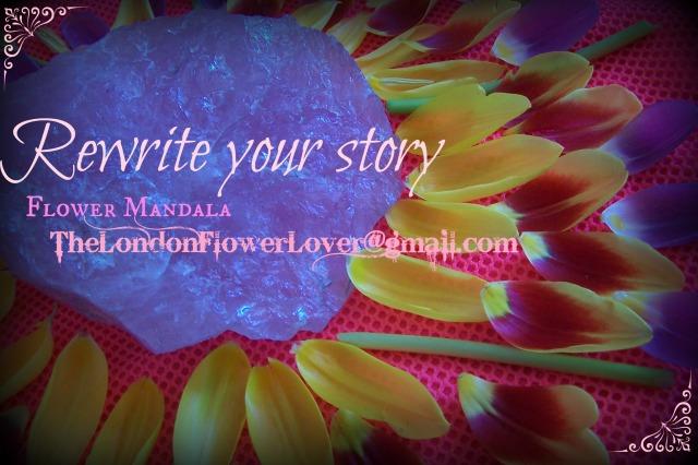 Flowermandala rewriteyourstory thelondonflowerlover