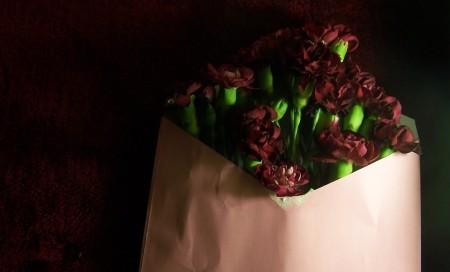 flowers in envelopes the London flower lover