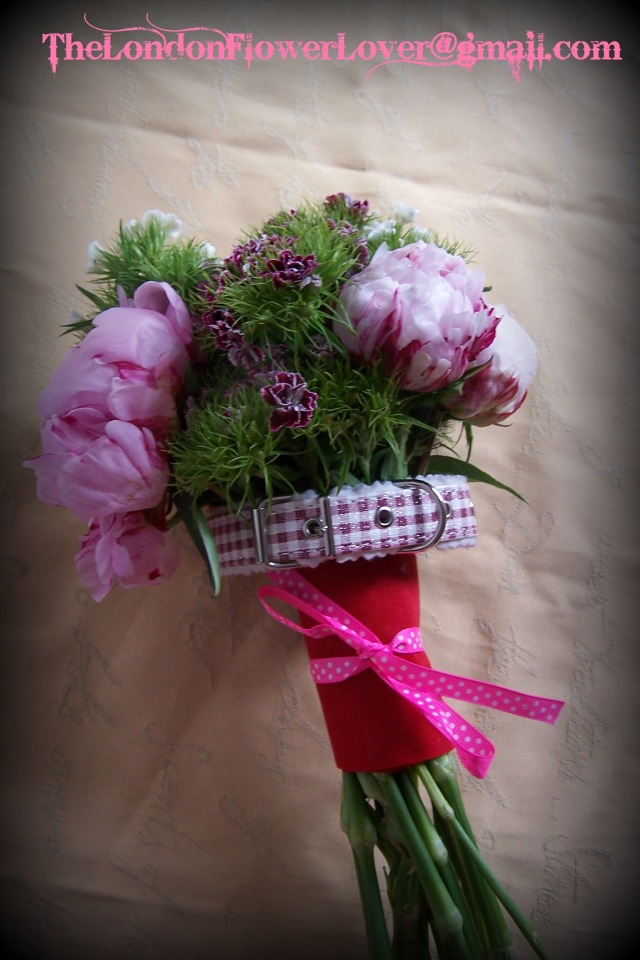 peony bouquet thelondon flower lover