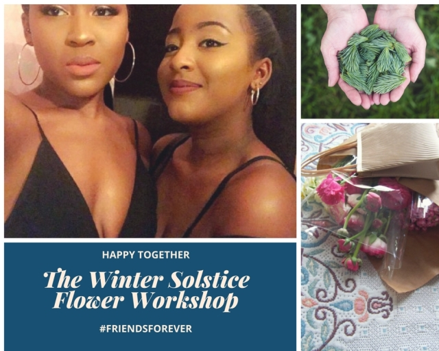 The winter solstice flower workshop the londonflowerlover1