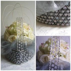 Wedding Flowers the london flower lover-roses-in-basket