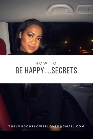The London Flower Lover Khyia How to be happy