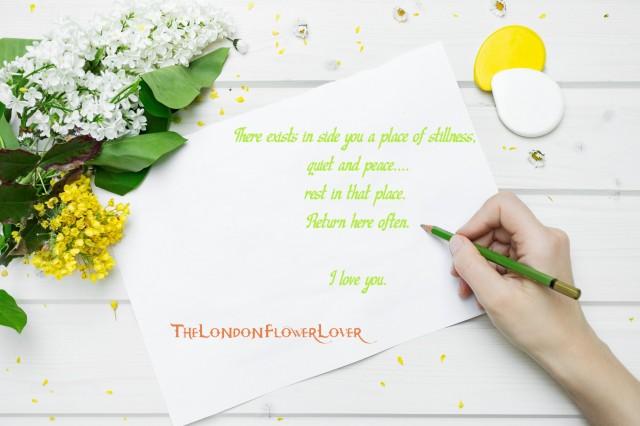 I love you the london flower lover