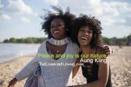 Thelondonflowerlover share joy with friends aung kling