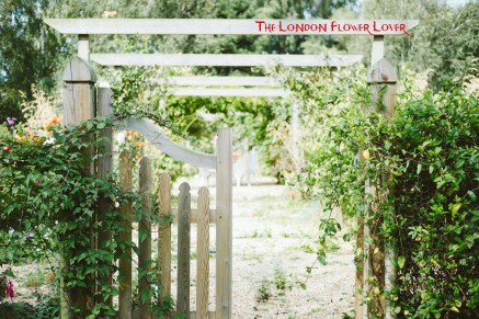 thlondonflowerlover welcome gate to beautiful garden of flowers